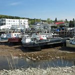 Alma - New Brunswick. Harbour at low tide