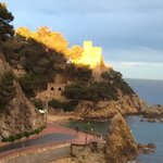 the castle at lloret de mar