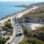 The Coastline roadworks