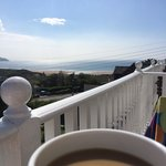 Coffee on the balcony...what a view ��