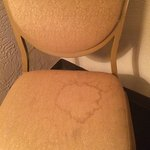 Stain on the chair