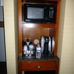 Microwave and coffee etc
