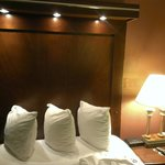 great beds,well made up well lighted