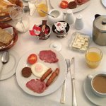 Full Irish breakfast- delicious!