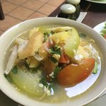 Cambodian Style Soup - Lunch at The Kabiki