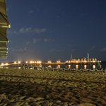 Strand und Steg by night