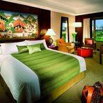 Deluxe View room with stunning views of the Royal Bangkok Sports Club or the Pool Terrace