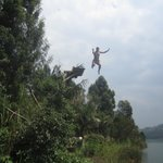 Foto de Lake Bunyonyi Overland Resort
