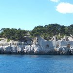 Boat trip of the Calanques.