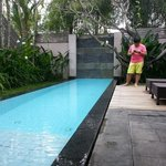 Private pool for each villa