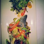 Sea bream at Hotel Restaurant La Brasserie
