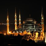 View from Restaurant - Blue Mosque