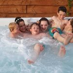 A great family get away, this spa pool was never off with the kids in it every day, very clean a