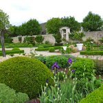 Stunning gardens at nearby Pommard Chateau.