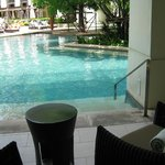 Pool entry from Executive Suite