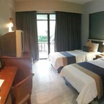 My superior room on 21 may 2014 near the pool