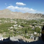 Leh View From Shanti Stupa