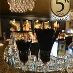 5th Bar - a relaxing atmosphere to eat and have a drink while in town.