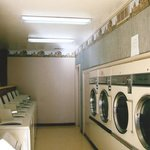 Clean, comfortable laundry room