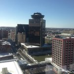 View of downtown Rochester from Hyatt