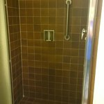 Shower stall, king suite