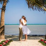 Our Wedding on the beach!