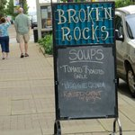 Broken Rocks, a Touch of Class without Breaking the Bank