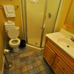 Stardust Motel in Wildwood, NJ, 2nd floor Bungalow Bathroom