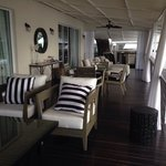 Cadillac Suite decking overlooking the beach....just stunning...
