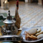 Welcome Tea at the Riad