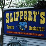 Slippery's Bar Sign