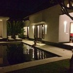 Our villa!!! The pool is massive room is amazing and the service here is so good! We have now st