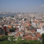 Refreshing View of Istanbul from Hotel Santa Hill