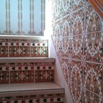 beautiful tile stairs