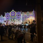 Bari lights celebrating San Nicola Festival