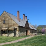 George Washington's Distillery & Grist Mill, April 2014