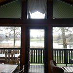 View of the Loch from our Lodge