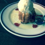 Bread pudding. Don't leave Arties without it!