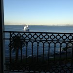 Sea view from the room