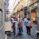 near BnB Medea- the streets are lively!