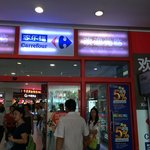 Carrefour mall that does not stock the Carrefour housebrands