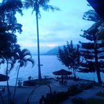 Danau Toba in the morning