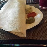 Masala Dosa at Breakfast