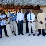 Some of the Swahili Beach team who came to wish us well on our wedding day :-)