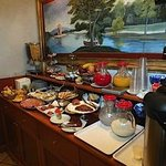 Wonderful breakfasts at the buffet table