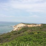 Excellent view of Aquinnah cliffs and light house