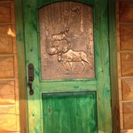 beautiful copper moose door