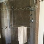 Fabulous shower at Foster Harris House
