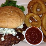Chipotle Bleu Cheese Burger