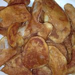 An order of hand fried chips